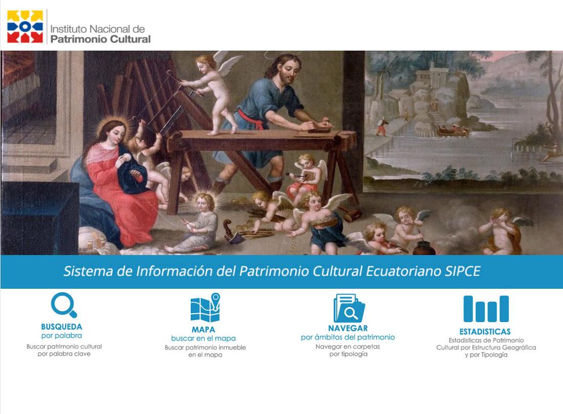 Sistema de Información del Patrimonio Cultural Ecuatoriano (SIPCE)
